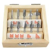 Miniatur-Fräsersatz HSS, 10-teilig
