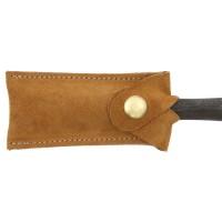 Lederschutzkappe für Lochbeitel aus dehnbarem Leder, 15-24 mm
