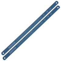 Ersatzblätter für Metall-Bügelsäge, Länge 300 mm, 18 Zähne pro Zoll