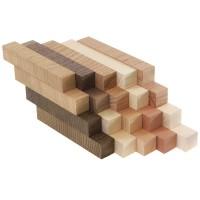 Schreibgeräte-Rohlinge Sortiment, Crosscut, europ. Holzarten, 20 Stück