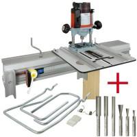 SET: WoodRat WR900, Fräsersatz 1, Tauchgriff C/F + MAFELL Oberfräse LO 65 Ec