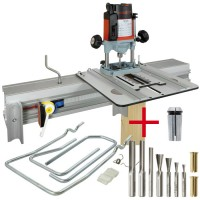 SET: WoodRat WR900, Fräsersatz 2, Tauchgriff C/F + MAFELL Oberfräse LO 65 Ec