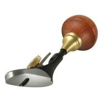 Veritas Miniatur-Handhobel, löffelförmige Sohle, A2-Eisen