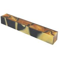 Acryl-Pen Blank, gold/schwarz