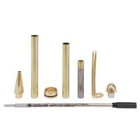 Kugelschreiber-Bausatz Manta, gold, 1 Stück