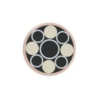 Mosaikpin, Kupfer, Ø 6,4 mm, Nr. 12
