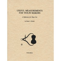 Useful Measurements for Violin Makers
