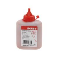 Kreidepulver für Schlagschnur, rot