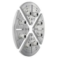 Axminster Planscheibensegmente mit 8 elastischen Zapfen, Ø 250 mm
