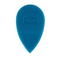 Herdim Nylon-Plektra, Tropfenform groß, 100 Stück, stark