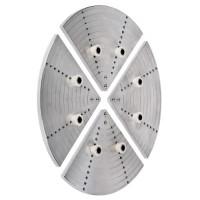 Axminster Planscheibensegmente mit 8 elastischen Zapfen, Ø 400 mm
