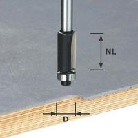 Festool Bündigfräser Schaft 8 mm HW S8 D12,7/NL25