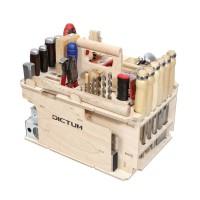 DICTUM Werkzeugträger »Schreinerei, Innenausbau«, bestückt, 43-teilig