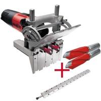SET: MAFELL DuoDübler-System DD40 P + Dübellehre 800 mm und 2 x 5 mm HM-Bohrer