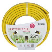 Rehau Garden Hose Quattroflex Plus +, ½ inch, 25 m