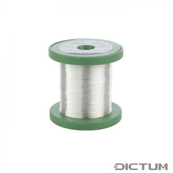 Filo di rame argentato, 0,25 mm, 100 g