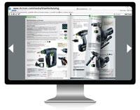 Online im Elektrowerkzeug Katalog blättern