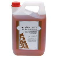 Boiled Linseed Oil for Exterior Use, 5 l