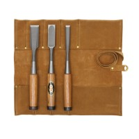 HSS Chisel for Carpenters, 3-Piece Set