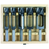 Cylindrical Tenon Cutter, 5-Piece Set