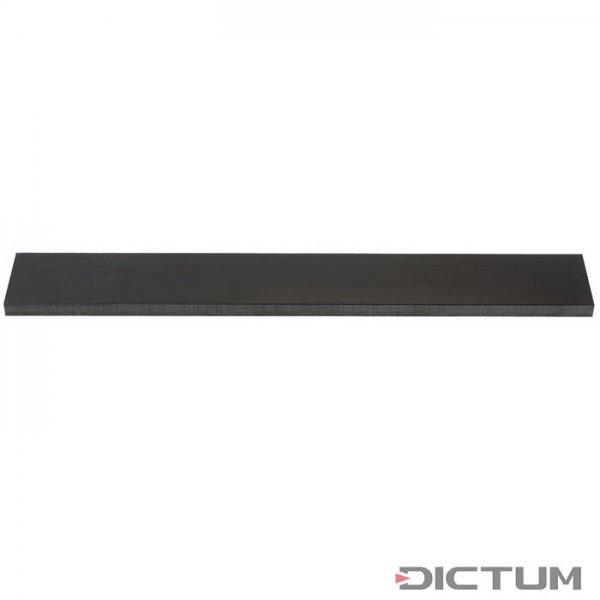 亚麻麻布,黑色,厚度3毫米。