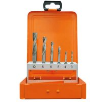 Bit Wood Twist Drill, 6-Piece Set