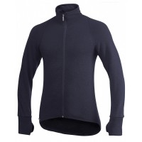 Woolpower Cardigan, Dark Navy, 400 g/m², Size XL