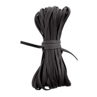 Kangaroo Braiding Laces, Flat, Black
