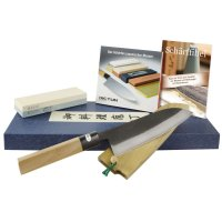 All-purpose Knife with Sharpening Stone and DVD