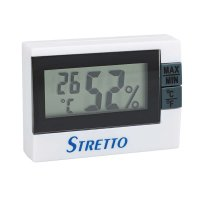 Stretto Hygro-, Thermometer, Digital