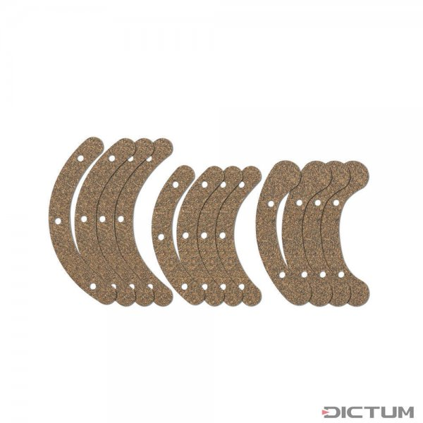 Rubber Cork Pads for Gluing Clamp Set, Violin