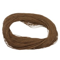 Linen Thread, Unwaxed, Beige, Thickness 1.2 mm