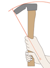 Bild 2: Schwungkurve Dechsel