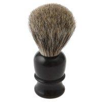 Blaireau Thiers-Issard, poils de blaireau, poignée synthétique, noir