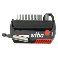 Wiha Hex Key Bit Set, 12-Piece Set