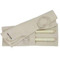 Sacoche enroulable en jute pour scies japonaises, taille 3