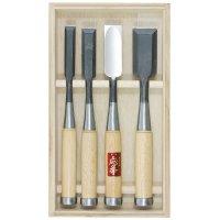 Set de ciseaux de charpentier Hattori, 4 pièces