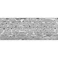 Damasteel DS93X Draupner Damascus Steel, 26 x 3.2 x 180 mm