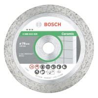 Bosch Diamanttrennscheibe Best for Ceramic, Ø 76 mm