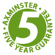 Axminster 5 year warranty for chucks
