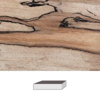 Spalted Red Beech, 150 x 40 x 40 mm