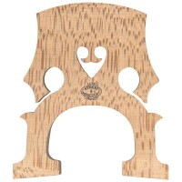 Aubert Steg Luxe Nr. 18 Französisch, roh, härtebehandelt, Cello 4/4, 90 mm
