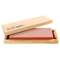 DMT Whetstone Bench Stone in Practical Wooden Box, Width 67 mm, Fine