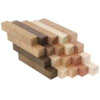 Pen Blanks Assortment, Crosscut, European Wood Species, 20-Piece Set