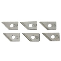 Replacement Blade Set for Hole Cutter with Knob Handle, 10-Piece Set