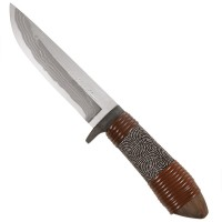Saji Hunting Knife Tango Chirimen
