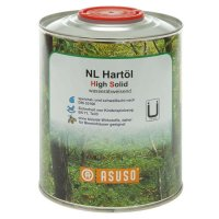 Huile dure ASUSO NL High Solid, hydrophobe, 750 ml