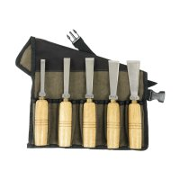 Chinese HSS Cabinetmaker's Chisels, 5-Piece Set