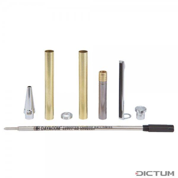 Kugelschreiber-Bausatz Paris, silber, 1 Stück