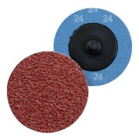 Sanding Pads with Quick-Change Mechanism for Merlin2, grit 24